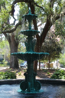 Fountain in Lafayette Square