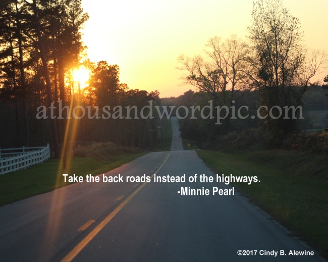 WATERMARKED BACK ROADS posted