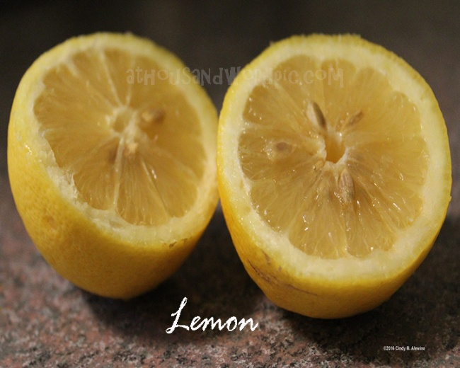 WATERMARKED LEMON